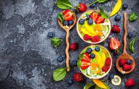 Spirulina colorful recipe 5 essentia