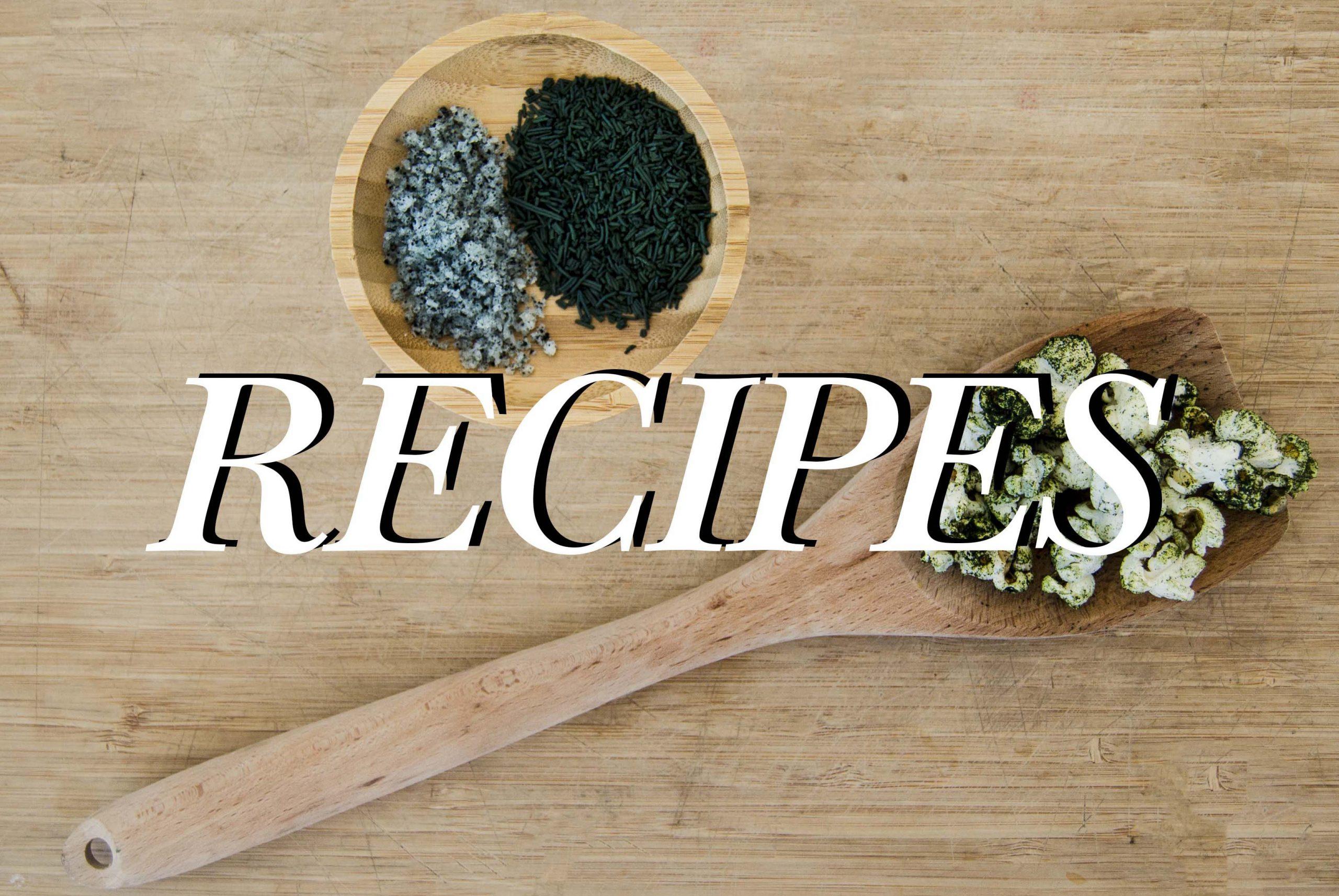 Spirulina superfood recipes